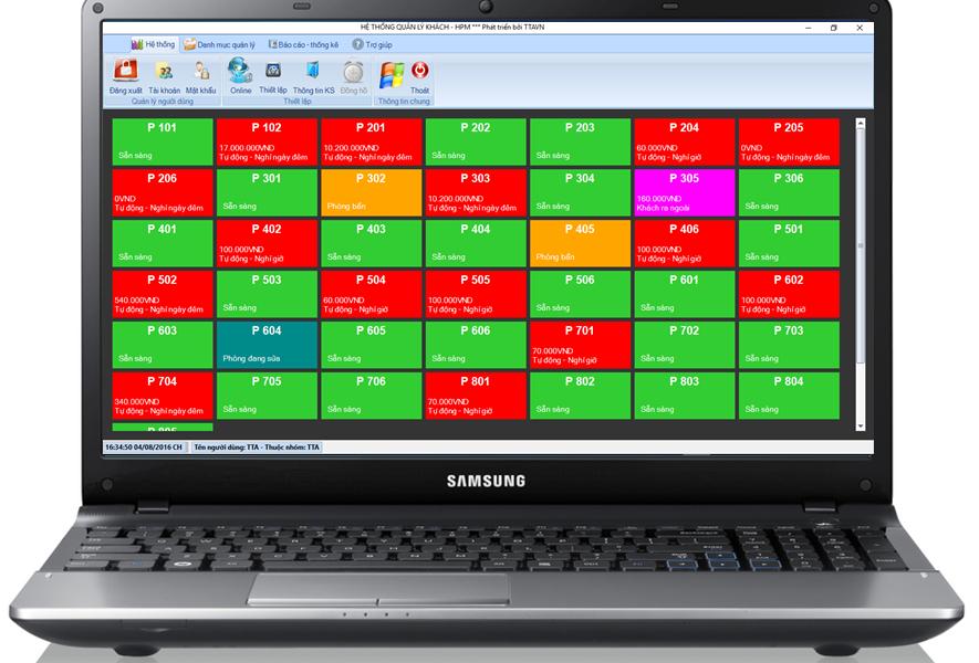phần mềm quản lý khách sạn thông minh
